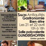 Salon gastronomie et antiquités, artisanat et bien-être à Gundershoffen 2019