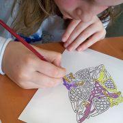 Atelier d\'enluminure avec Aline Falco pour les enfants