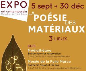 La poésie des matériaux - Exposition d\'art contemporain