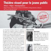 Théâtre visuel pour le jeune public (stage)