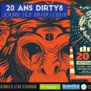 20 ans Dirty8 et Crazy Cover Night #1