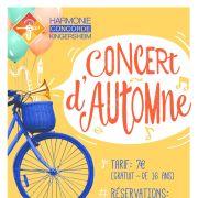 Concert d\'automne 2019 - Harmonie Concorde de Kingersheim