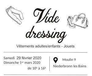 Vide dressing, vêtements adultes/enfants et jouets