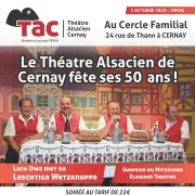 Le Théâtre Alsacien de Cernay fête ses 50 ans