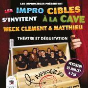 Les Improcibles s\'invitent à la Cave Weck Clément & Matthieu