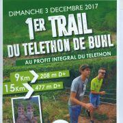 Animations du Téléthon 2018 à Buhl : Trail du Téléthon de Buhl