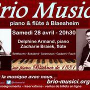 Brio Musici : Duo piano et flûte
