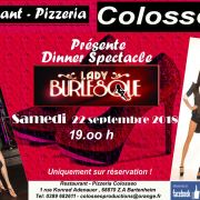 Dinner Spectacle : Lady Burlesque