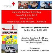 Croix-Rouge / Portes ouvertes de l\'Unité locale Erstein - Benfeld