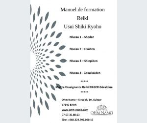 Formation Reiki usui niveau 1
