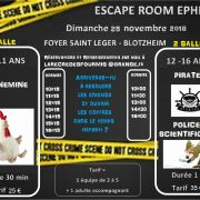 Escape room éphemère