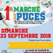 Marché aux puces à Drachenbronn Birlenbach 2018