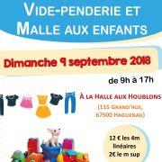 Vide-Penderie/Malle aux Enfants à Haguenau 2018