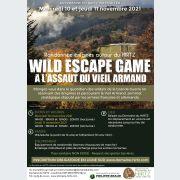 Wild Escape Game - « A l'assaut du Vieil Armand » 10 et 11 novembre 2021