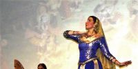 concert de harpe et de danse indienne