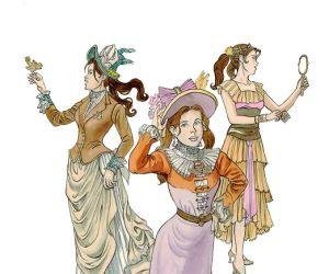 Aline, une histoire de la mode en bande dessinée