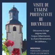 Eglise ouverte - Visite de l\'église protestante de Bouxwiller