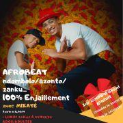Cours de danse AFRO (Afrobeat, azonto, ndombolo, afrohouse)
