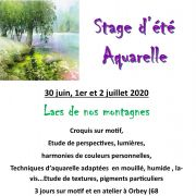 Stage d\'Aquarelle
