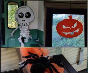 Train - Ballet ou balai d'Halloween