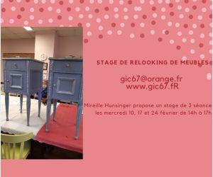 Stage - Relooking de meubles