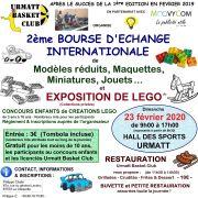 2ème Bourse d\'échange internationale de modèles réduits, miniatures, jouets et exposition de Lego