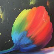 Acrylique, huile, pastels