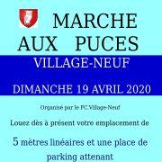 Marché aux puces à Village-Neuf 2020