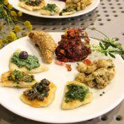 Atelier familial pour une cuisine végétarienne