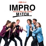 Match d\'impro Juniors vs Pros à Strasbourg
