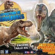 Le Musée Ephémère des Dinosaures à Belfort