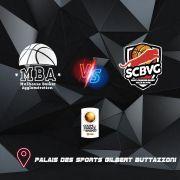 Mulhouse Basket Agglomération - Saint-Chamond Basket