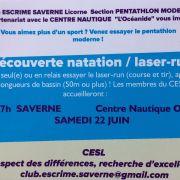 Découverte Laser-Run et natation