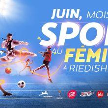 Juin, mois du sport au féminin à Riedisheim