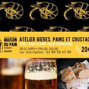 Atelier Bières : Bières, pains et crustacés