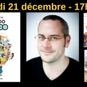 Dédicace de Mondo Disco - Nocturne de Noël avec Nicolas Wild