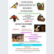 Concours, exposition et bourse d\'oiseaux