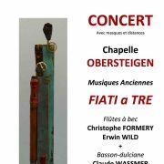 FIATI a TRE : Concert de musiques anciennes