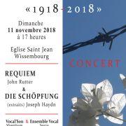 Concert Requiem de John Rutter / die Schöpfung (extraits) de Joseph Haydn