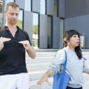 Visite inclusive en langue des signes française