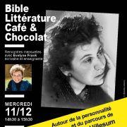 Bible, littérature, café & chocolat