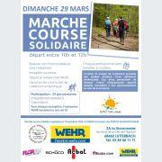 Deuxième Marche Course Solidaire WEHR