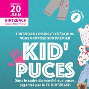 Kid\' Puces en extérieur organisé par Hirtzbach Loisirs et Créations