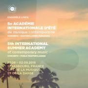 5e Académie Internationale d\'Été de Musique Contemporaine