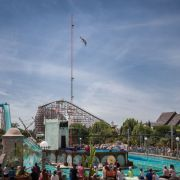 Spectacle de plongeon de haut-vol à Europa-Park