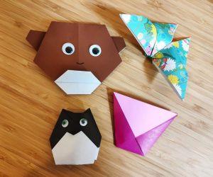 Atelier d\'origami - Enfants - Niveau 1 (débutant)