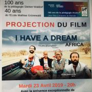 I Have a Dream Africa - 100 ans Ecole Waldorf