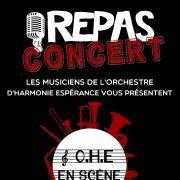 Repas-Concert OHE Orchestre Harmonie Espérance