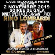 Dîner dansant avec Rino Lombardi