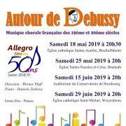 Autour de Debussy